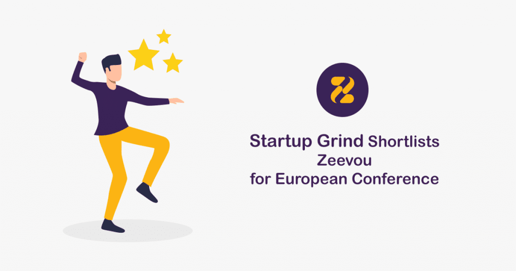 Startup Grind Shortlists Zeevou for European Conference