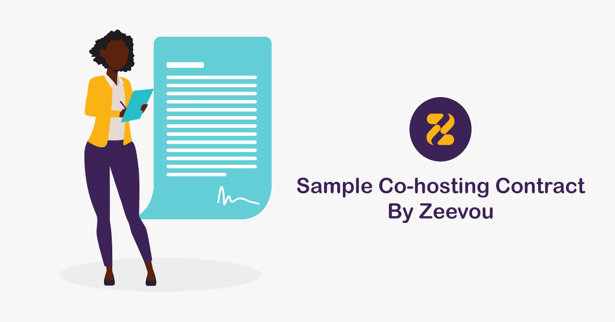 Sample Co-Hosting Contract