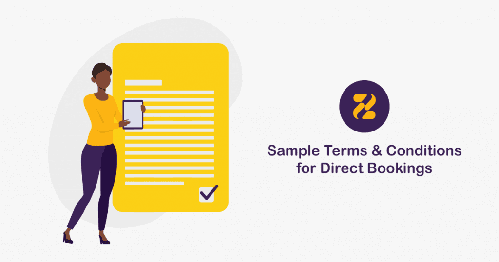Sample Terms and Conditions for Direct Bookings