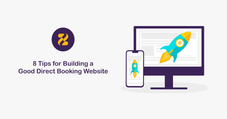 8 Tips for Building a Good Direct Booking Website