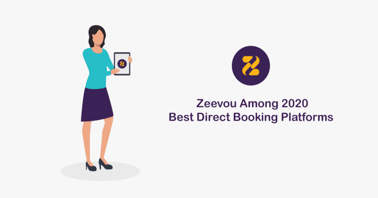Zeevou Among 2020 Best Direct Booking Platforms