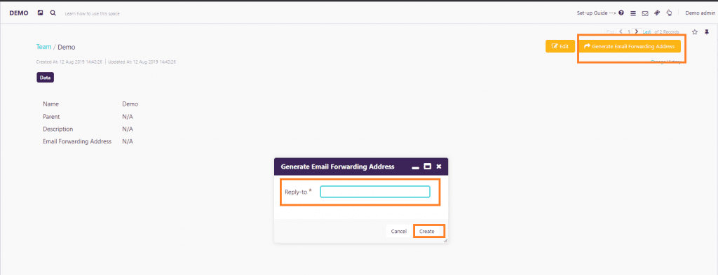 Import your Emails in Zeevou