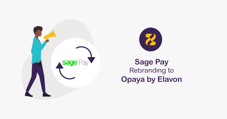 Sage Pay Rebranding to Opaya