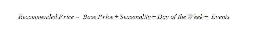Base Price formula- Zeevou