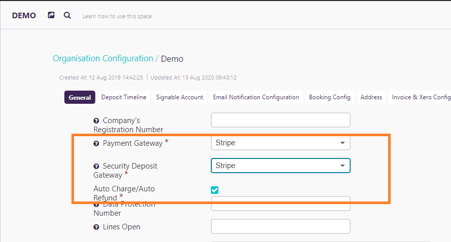 What is Auto Charge/ Auto Refund option- Zeevou