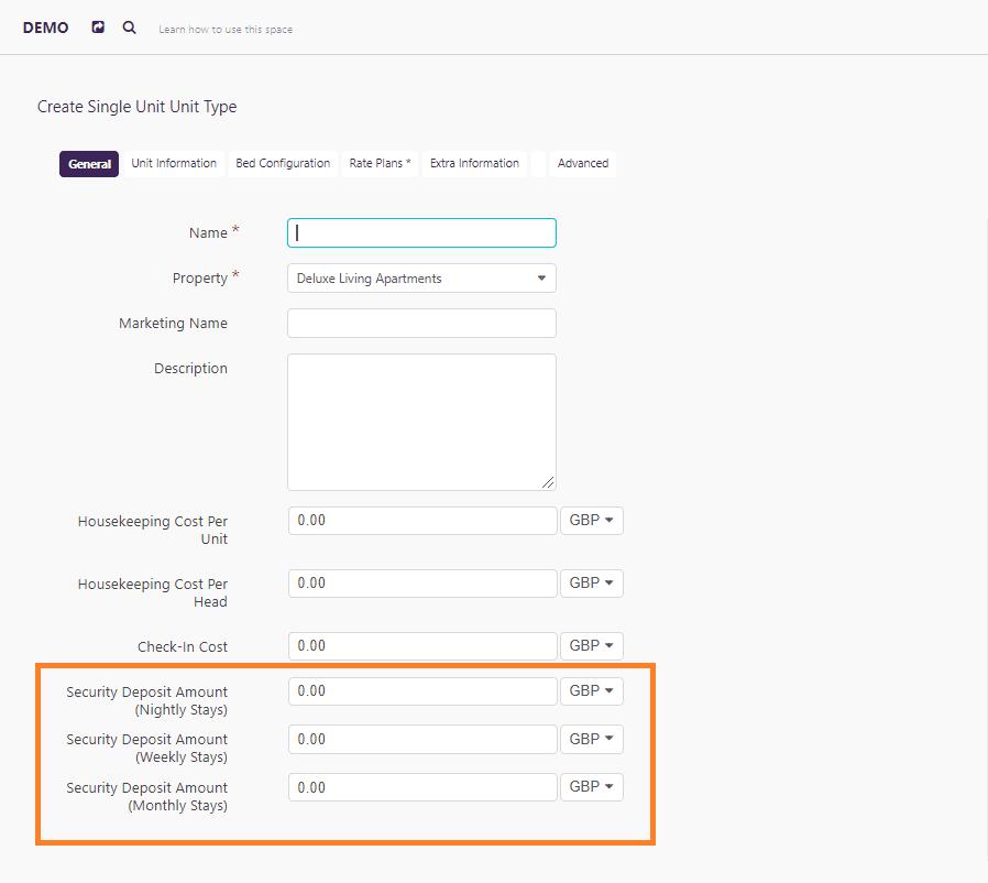 how to create unit types on Zeevou