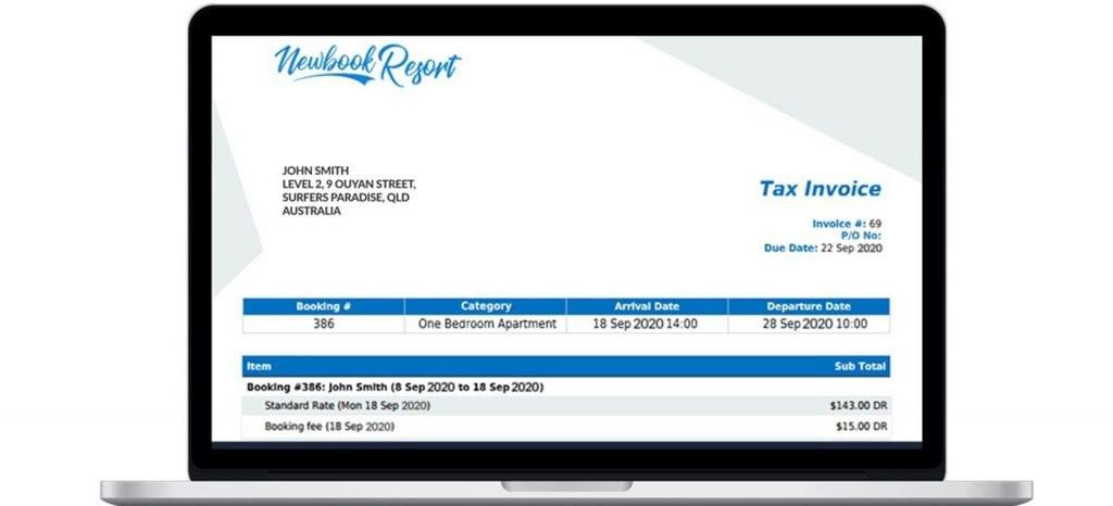 Newbook payments