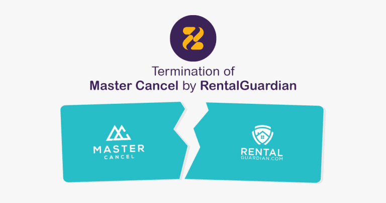 Termination of Master Cancel by RentalGuardian