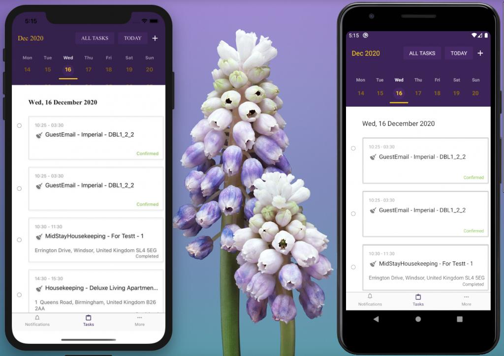 Zeevou Housekeeping Mobile App