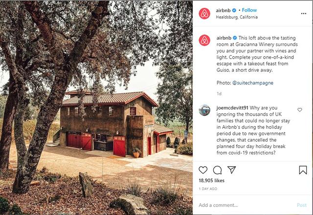 Airbnb Instagram Page- Zeevou