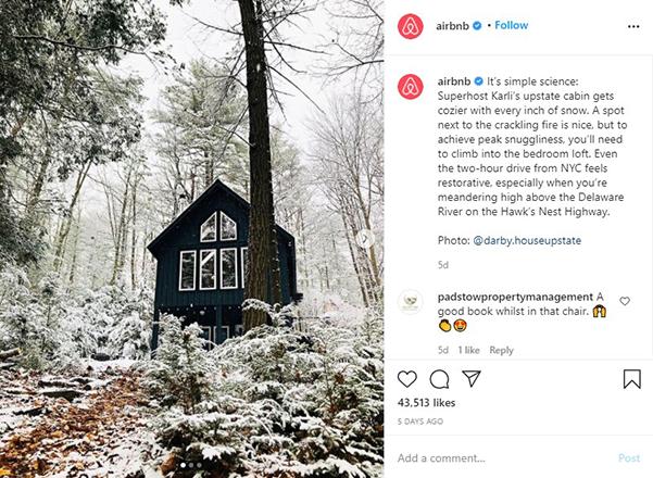 Airbnb Instagram Page - Property Management Social Media - Zeevou