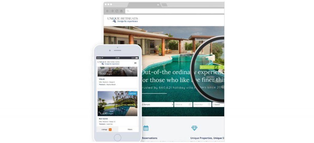 Rentivo Direct booking website- Zeevou