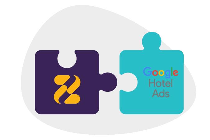 Zeevou integration with Google Hotel Ads