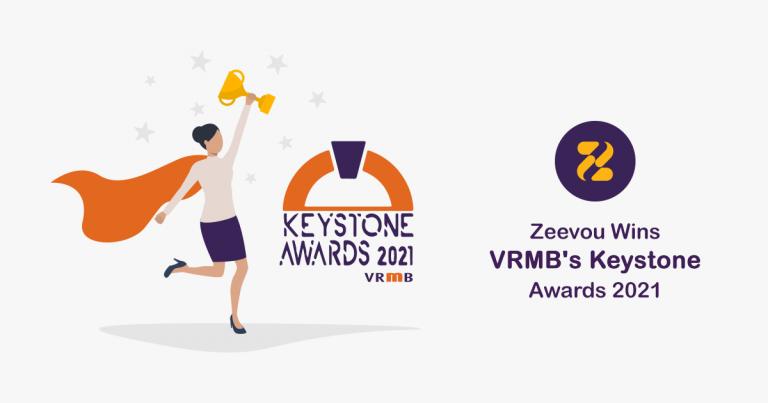 Zeevou Wins VRMB's Keystone Awards 2021