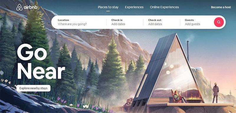 Airbnb Home Page - Zeevou- Airbnb vs Vrbo
