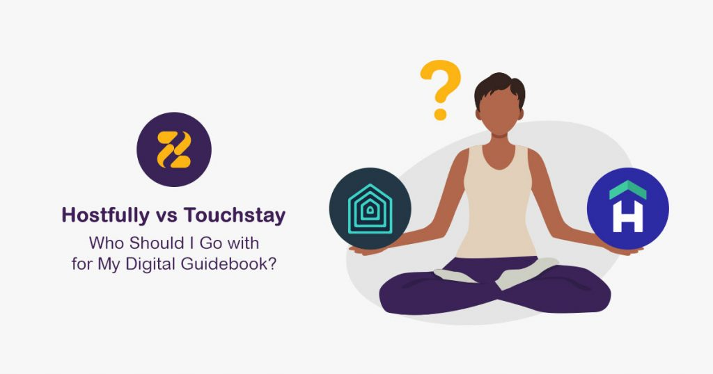 Digital Guidebook-Hostfully vs Touchstay- Zeevou
