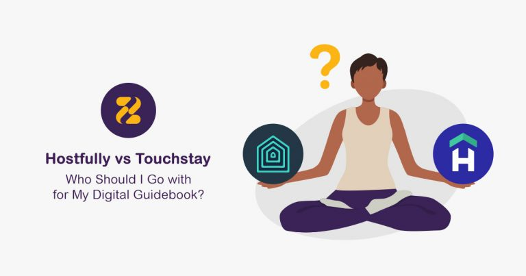 Digital Guidebook-Hostfully vs Touchstay- Zeevou