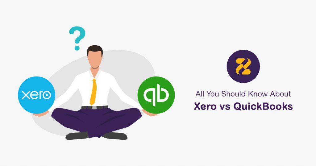 Xero vs QuickBooks - Zeevou