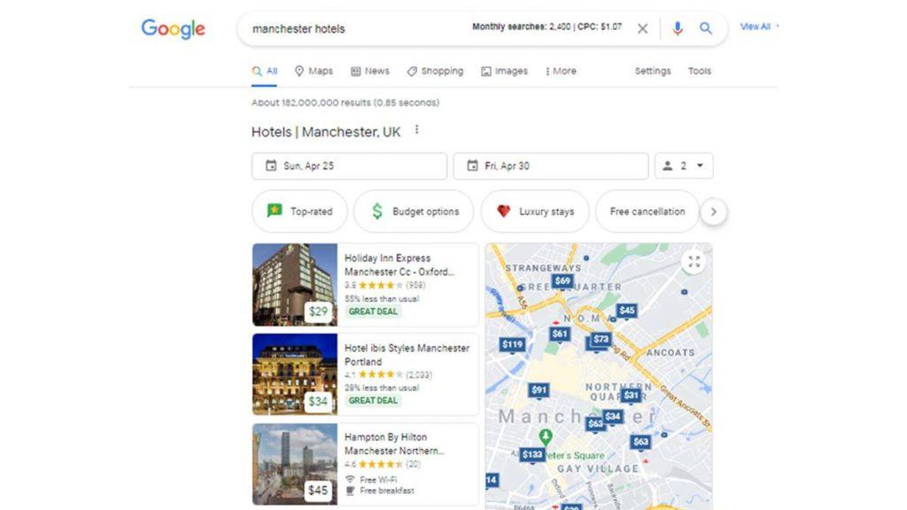 Google Free Booking Links - Zeevou