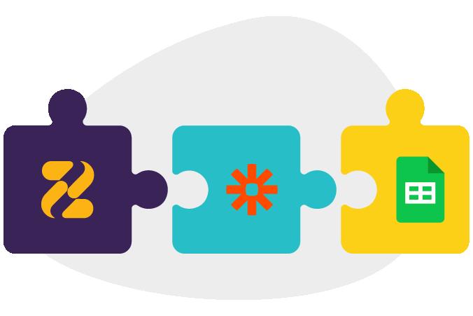 Zeevou's Integration with Google Sheet through Zapier