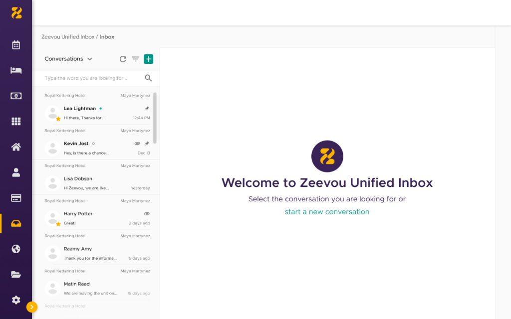 Welcome to Zeevou Unified inbox-Zeevou