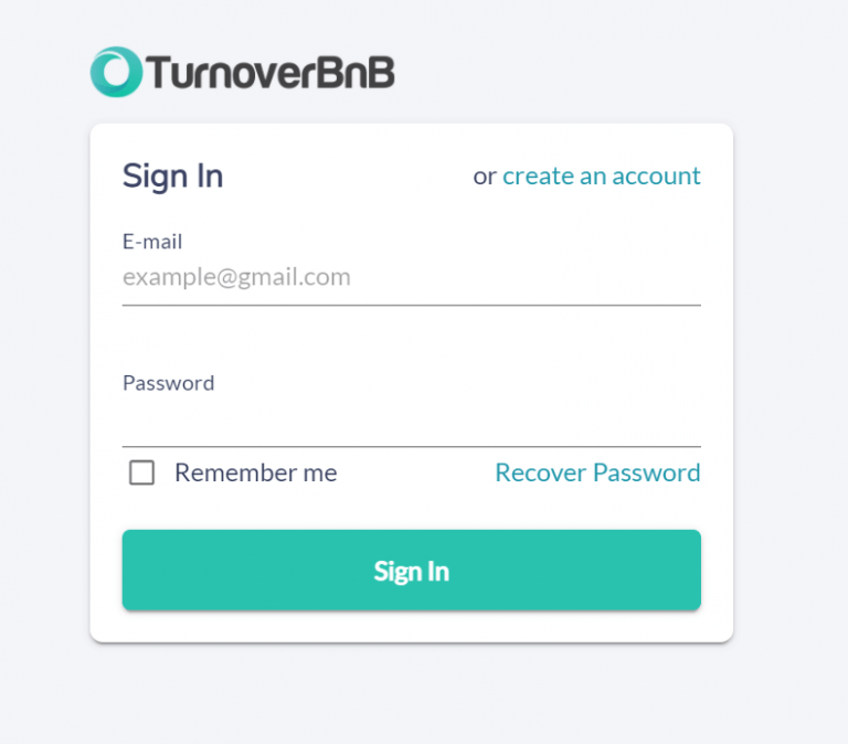 Link to TurnoverBnB- Zeevou